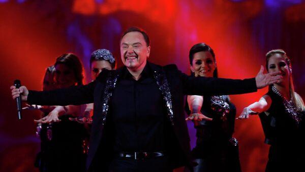 Ненад Кнежевич из Черногории в финале конкурса Евровидение-2015