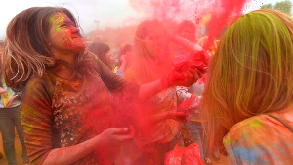 Фестиваль красок. Архивное фото