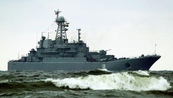 БДК Королев в море. Архивное фото