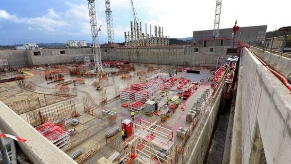 Строительство международного термоядерного экспериментального реактора (ИТЭР) неподалеку от Марселя, Франция. Архивное фото