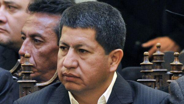 Министр топлива и энергетики Боливии Луис-Альберто Санчес. Архивное фото