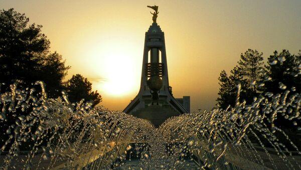 Виды Ашхабада - столицы Туркменистана