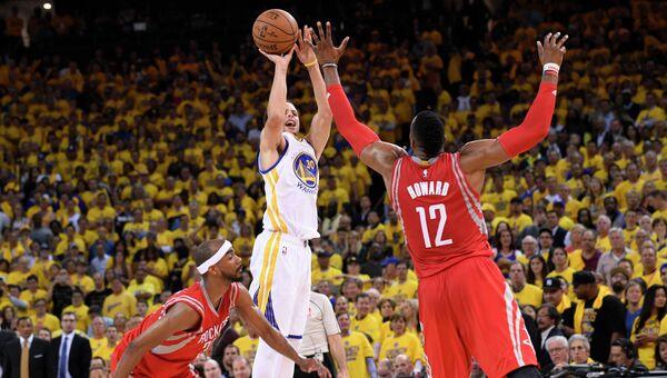 Матч  Голден Стэйт Уорриорз -  Хьюстон Рокетс в НБА, 28 мая 2015