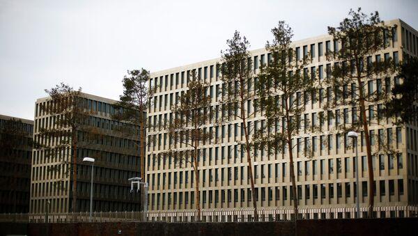 Здание Федеральной разведывательной службы Германии - БНД. Архивное фото