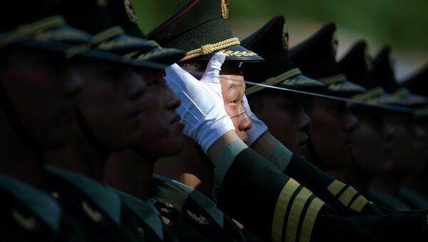 Солдаты Народно-освободительной армии Китая. Архивное фото