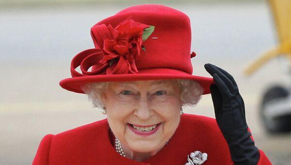 Королева Великобритании Елизавета II. Архивное фото