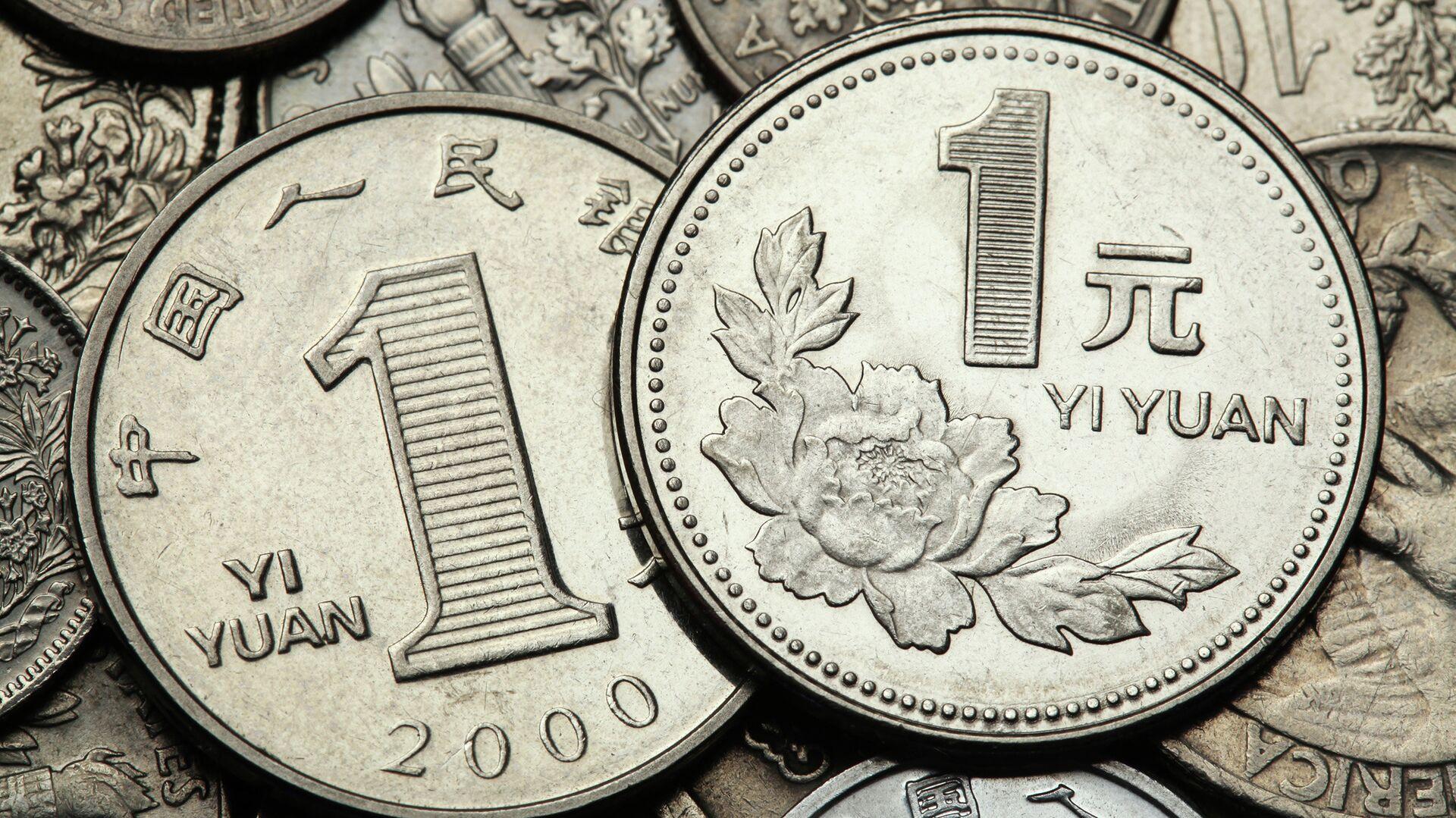 Монеты в 1 юань - РИА Новости, 1920, 02.04.2021