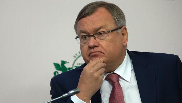 Президент-председатель правления ОАО Банк ВТБ Андрей Костин. Архивное фото