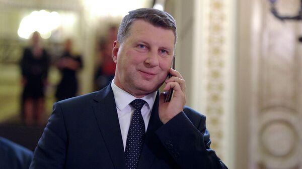 Президент Латвии Раймонд Вейонис. Рига, июнь 2015