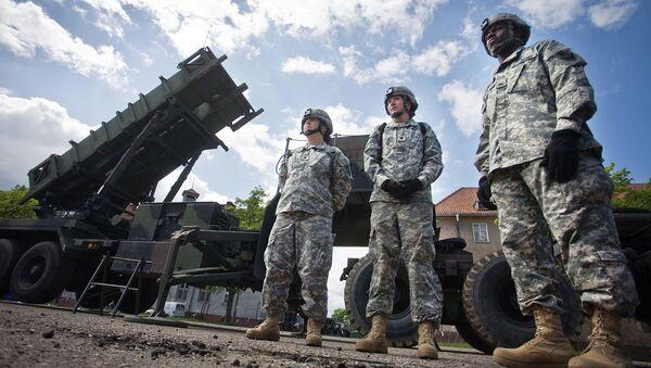 Армейский зенитно-ракетный комплекс Patriot вооруженных сил США