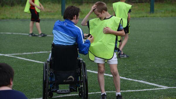 Летний спортивный лагерь для детей с инвалидностью и без в Подмосковье
