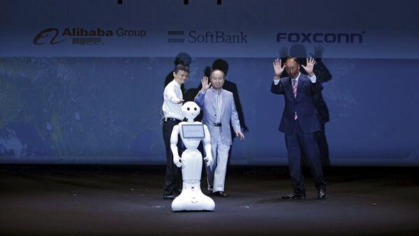 Презентация робота Pepper в Японии