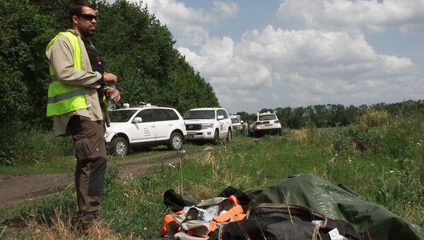 Представитель группы международных экспертов в районе падения самолёта Boeing 777 малайзийских авиалиний в Донецкой области