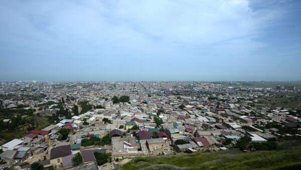 Вид на город Дербент. Архивное фото