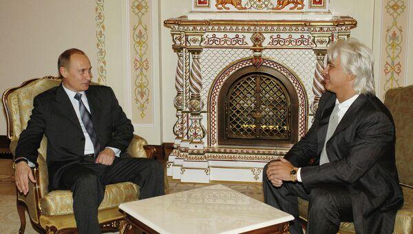 Встреча В.Путина и Д.Хворостовского