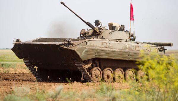 Боевая машина пехоты БМП. Архивное фото