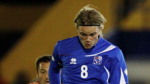 Игрок сборной Исландии Биркир Бьярнасон. Архивное фото