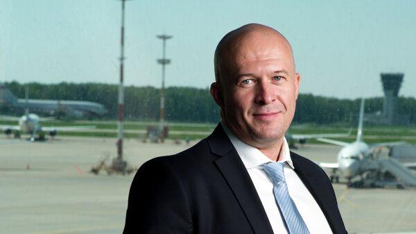 Гендиректор авиакомпании Победа Андрей Калмыков