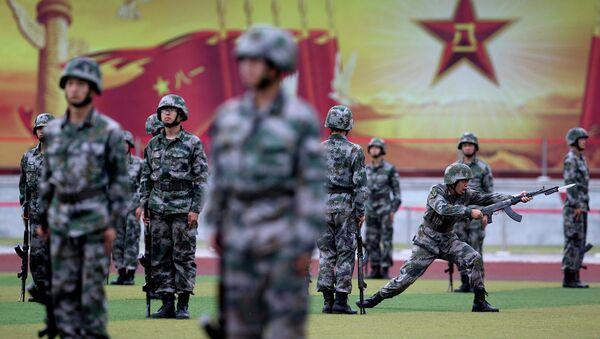 Народно-освободительная армия КНР. Архивное фото