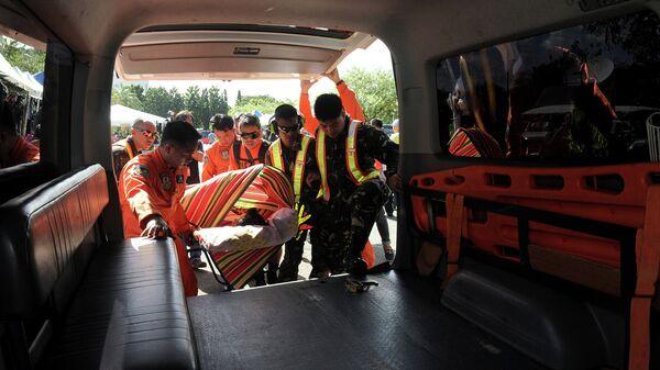 Карета скорой помощи в Филиппинах
