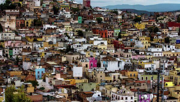 Общий вид Сакатекас Сити, Мексика. Архивное фото