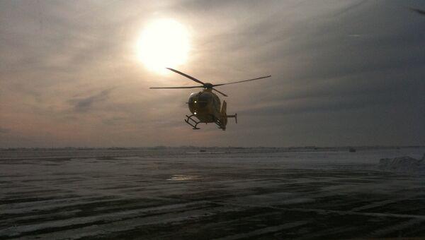 Вертолет скорой помощи. США
