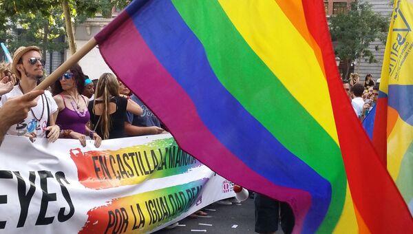 Гей-парад в честь 10-летней годовщины узаконивания однополых браков в Мадриде
