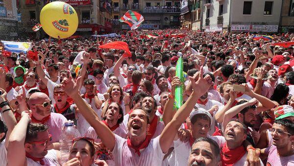 Фестиваль Сан-Фермин, фиеста в Памплоне, Испания