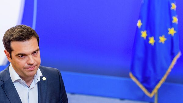 Бывший премьер-министр Греции Алексис Ципрас. архивное фото