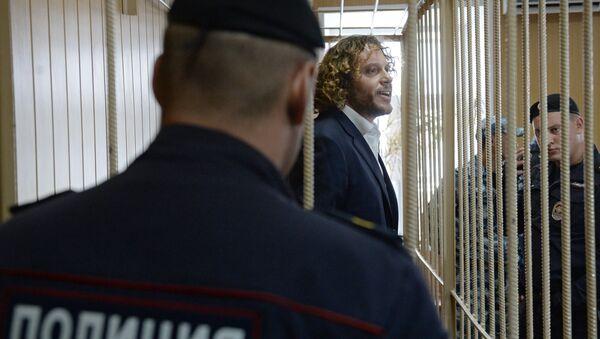 Бизнесмен Сергей Полонский в суде. Архивное фото