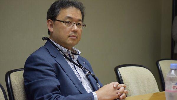 Глава департамента мировых продаж и маркетинга Mazda Motor Corporation Ясухиро Аояма