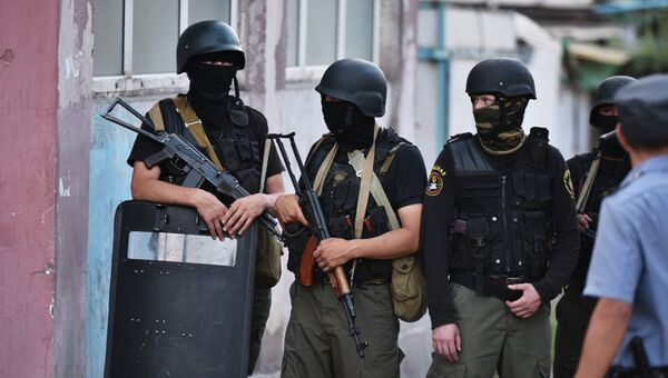 Контртеррористическая спецоперация по уничтожению боевиков в Бишкеке, Киргизия. 16 июля 2015