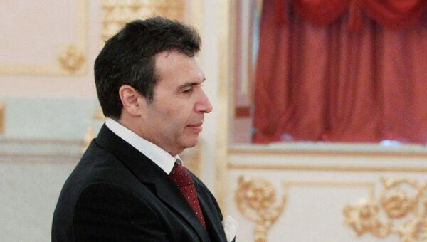 Чрезвычайный и Полномочный Посол Тунисской Республики в РФ Али Гутали. Архивное фото