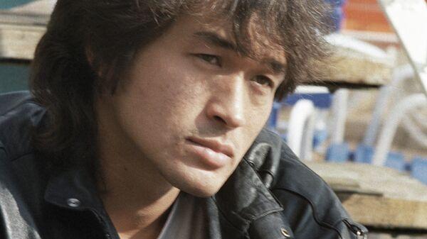 Солист рок-группы Кино Виктор Цой. Архивное фото