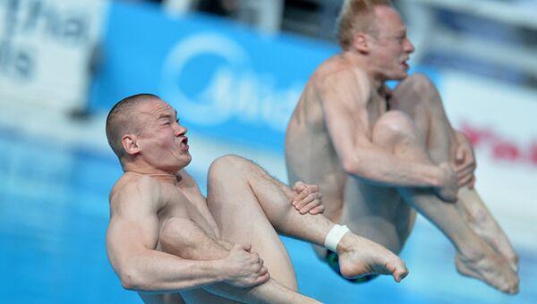 Евгений Кузнецов и Илья Захаров на XVI чемпионате мира по водным видам спорта в Казани