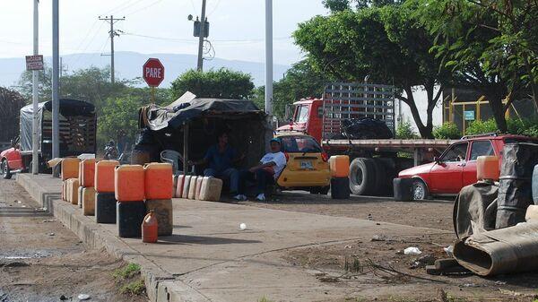Граница Венесуэлы и Колумбии