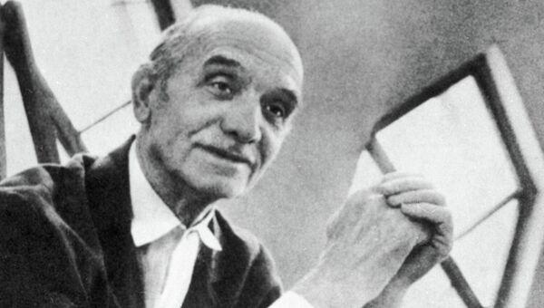 Архитектор Константин Мельников. Архивное фото