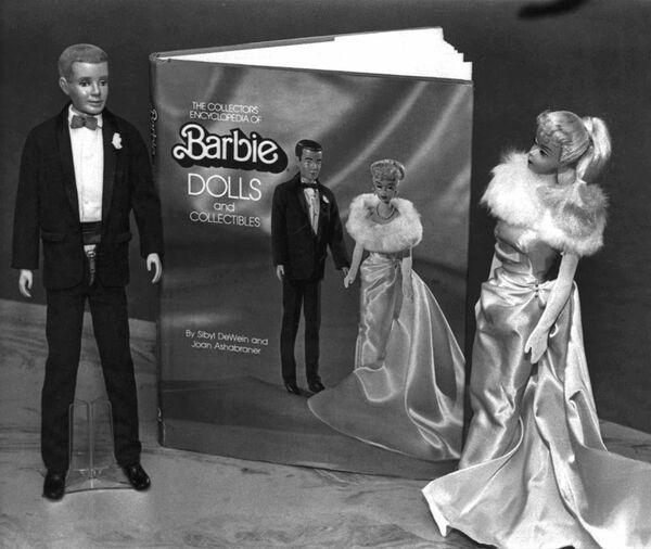 Куклы Барби и Кен. 1983
