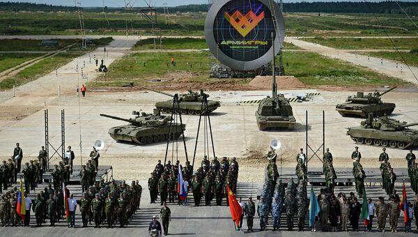 Армейские международные Игры. Архивное фото