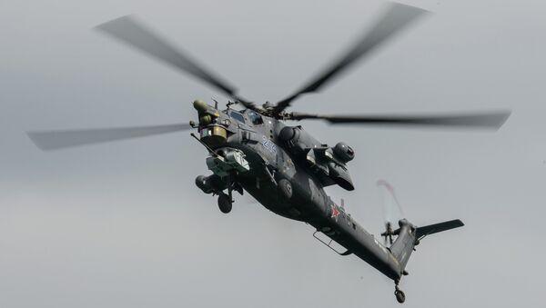Вертолет Ми-28 Н. Архивное фото