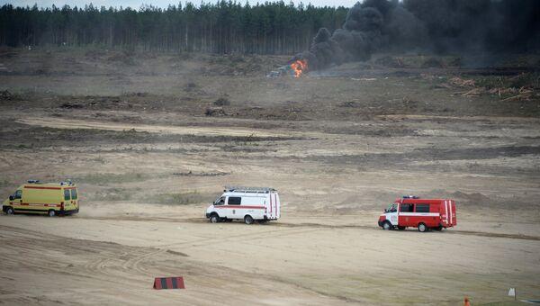 Вертолет Ми-28 потерпел крушение в Рязанской области. Архивное фото