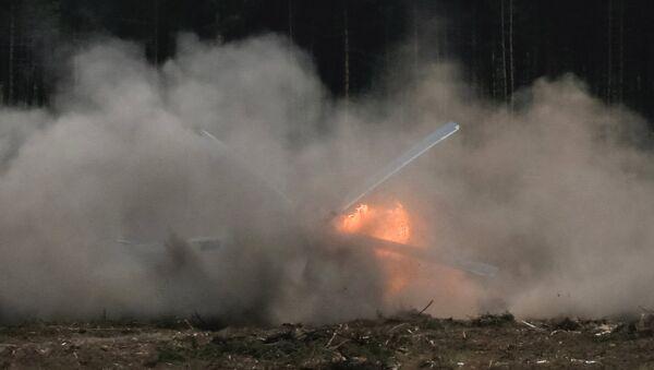 Вертолет Ми-28 потерпел крушение в Рязанской области