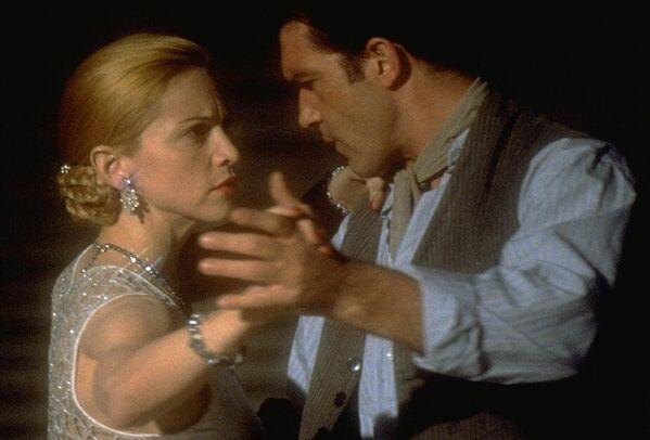 Кадр из фильма Эвита