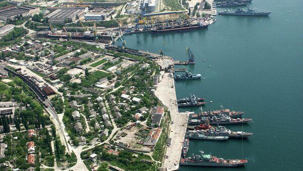 Порт в Черном море. Архивное фото