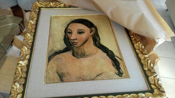Картина Голова молодой женщины кисти Пабло Пикассо