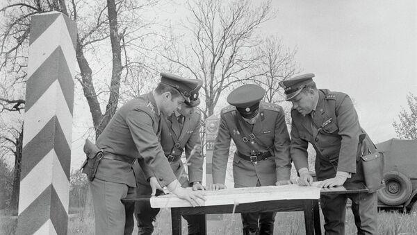 Совместное решение вопросов охраны границы советскими и польскими пограничниками, 1977 год