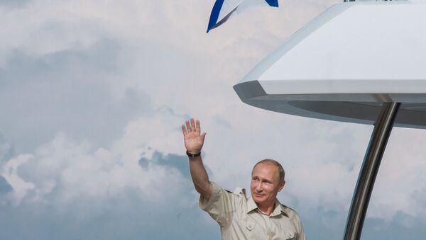 Президент РФ В.Путина в Севастополе