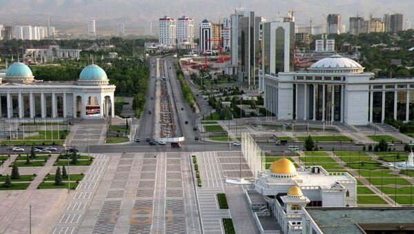 Ашхабад – столица Туркменистана. Архивное фото