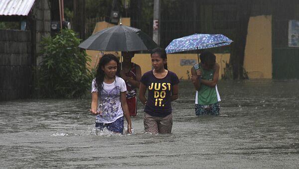 Последствия тайфуна Гони на Филиппинах, 22 августа 2015 года