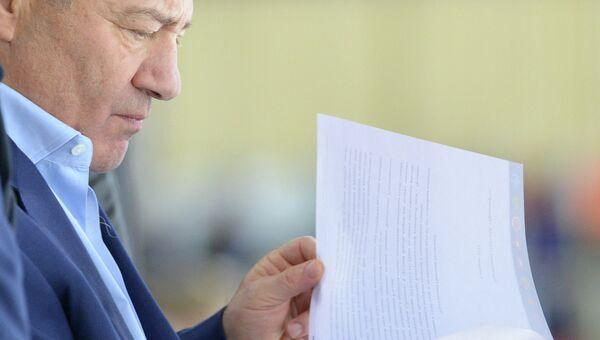 Председатель Совета директоров, президент ХК Динамо Аркадий Ротенберг